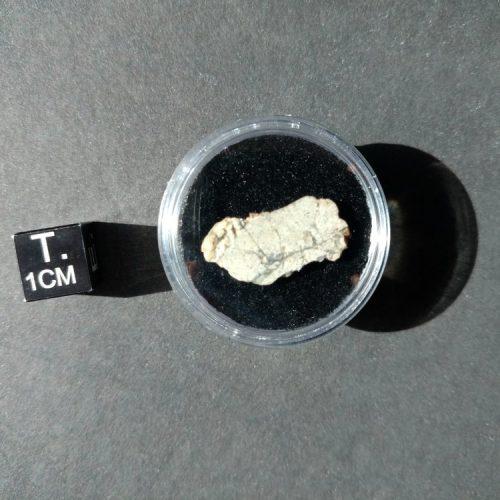 NWA 10140 Lunar Troctolite 1.3 gram Slice! Individual Meteorites For Sale