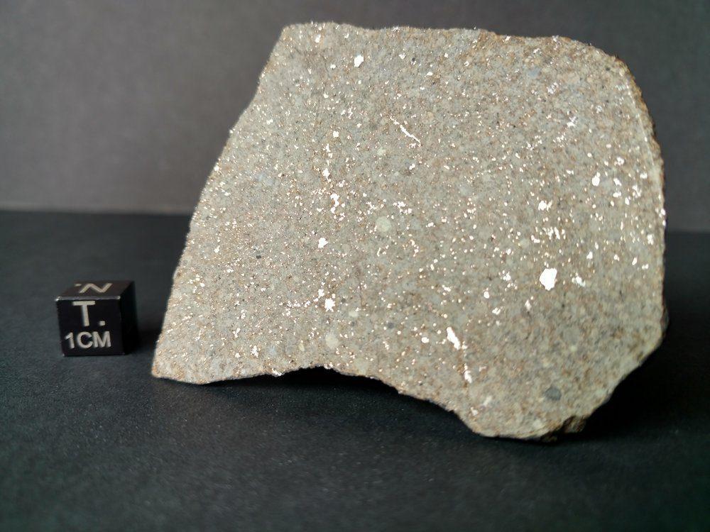 *SOLD* Osceola Florida Witnessed Fall! Super Rare! 26.7 gram Full Slice Meteorites For Sale