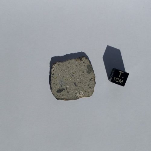 NWA 11184 Howardite Full Slice 4.111 grams Meteorites For Sale