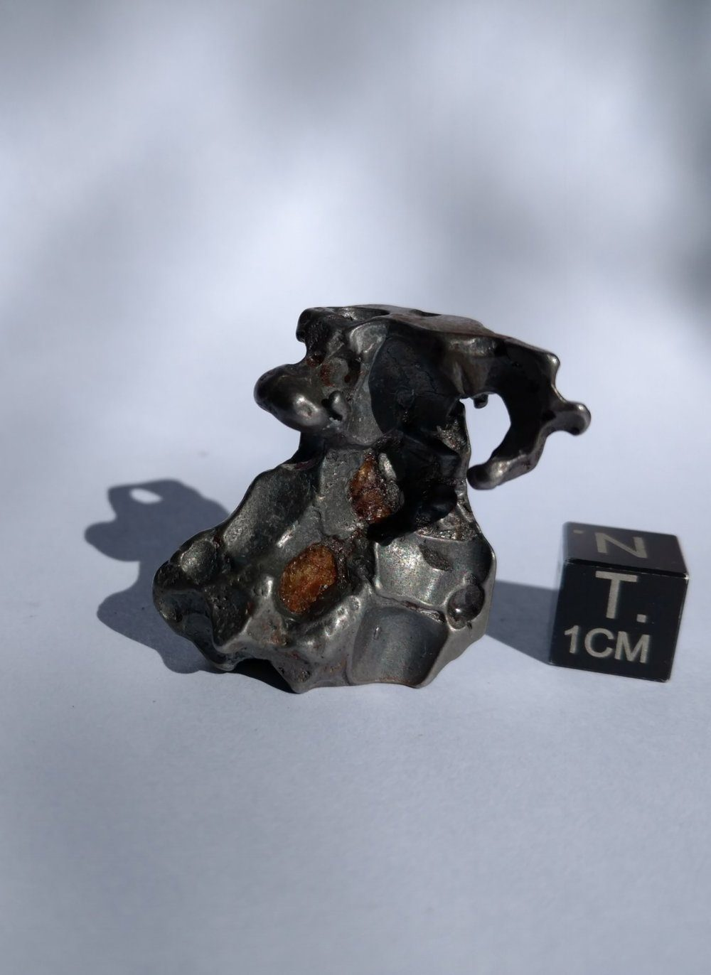 Brenham Nugget 20.25 grams *SOLD* Meteorites For Sale
