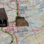 Bullhead City L6 Chondrite .65 gram Part Slice Meteorites For Sale
