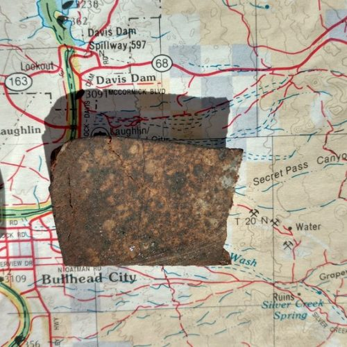 Bullhead City L6 Chondrite 8.5 gram Part Slice Meteorites For Sale
