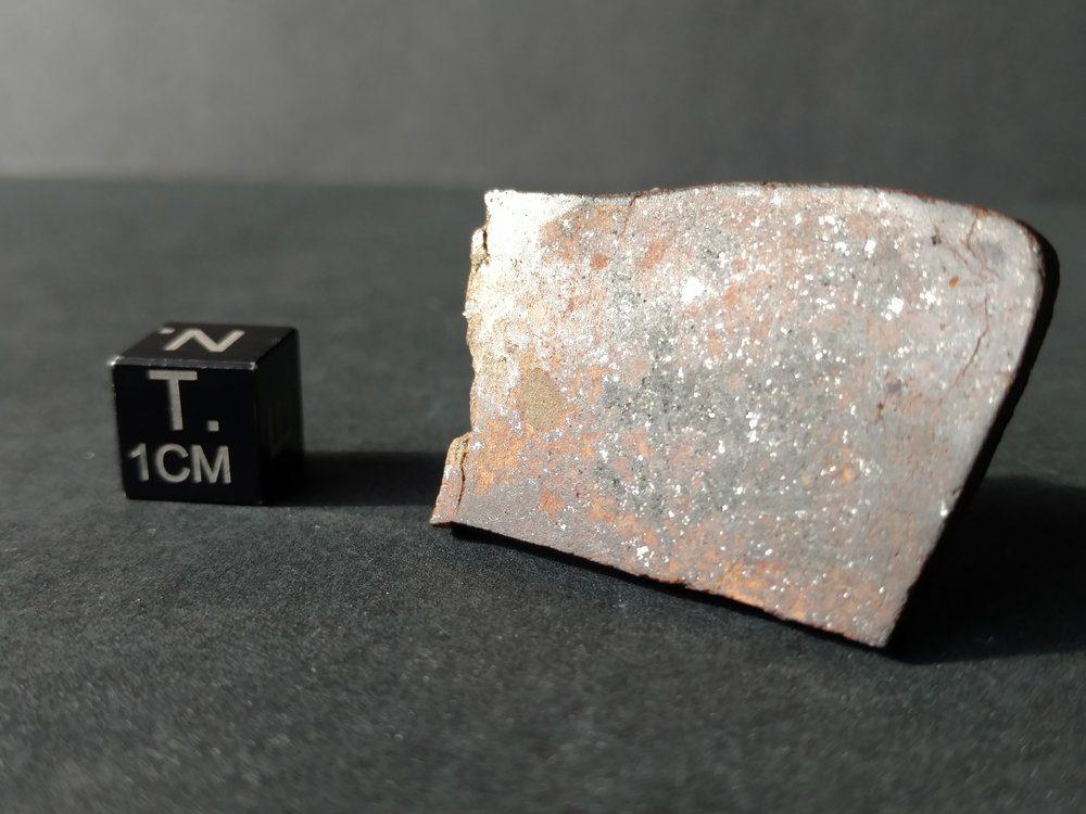 Bullhead City L6 Chondrite 8.5 gram Part Slice Meteorites For Sale