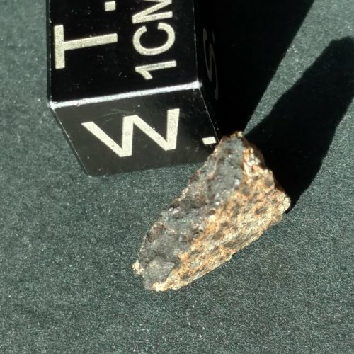Indian Butte Arizona Witnessed Meteorite Fall! 1.19 grams Meteorite part slice Hard to Get Witnessed AZ Fall Meteorites For Sale