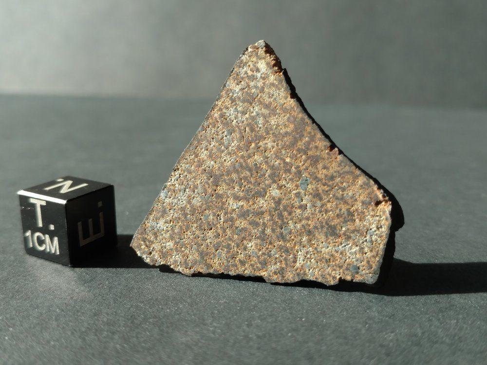 Indian Butte Arizona Witnessed Fall Full 3.57 gram Slice Meteorites For Sale