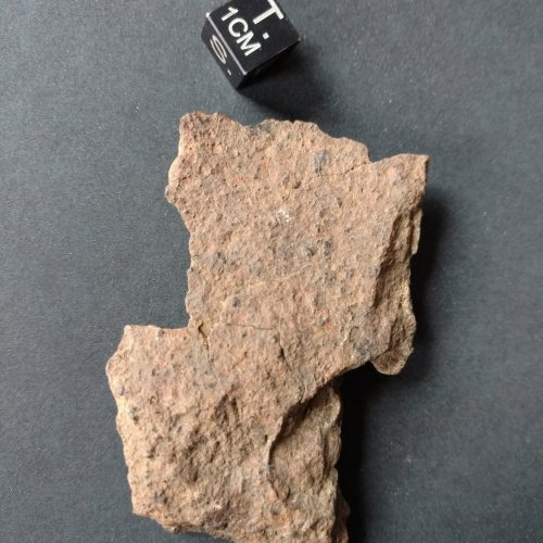 Nevada Side Gold Basin Meteorite! 57.1 gram Fragment Meteorites For Sale