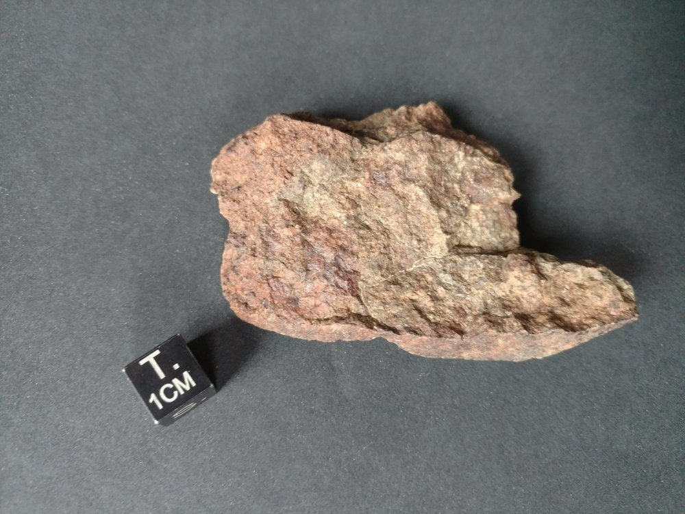 Nevada Side Gold Basin Meteorite! 58.2 gram Fragment Meteorites For Sale