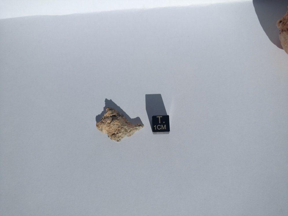 NWA 11107 3.248 gram Polished Fragment Eucrite Melt Breccia 1 OF ONLY 11 Meteorites For Sale