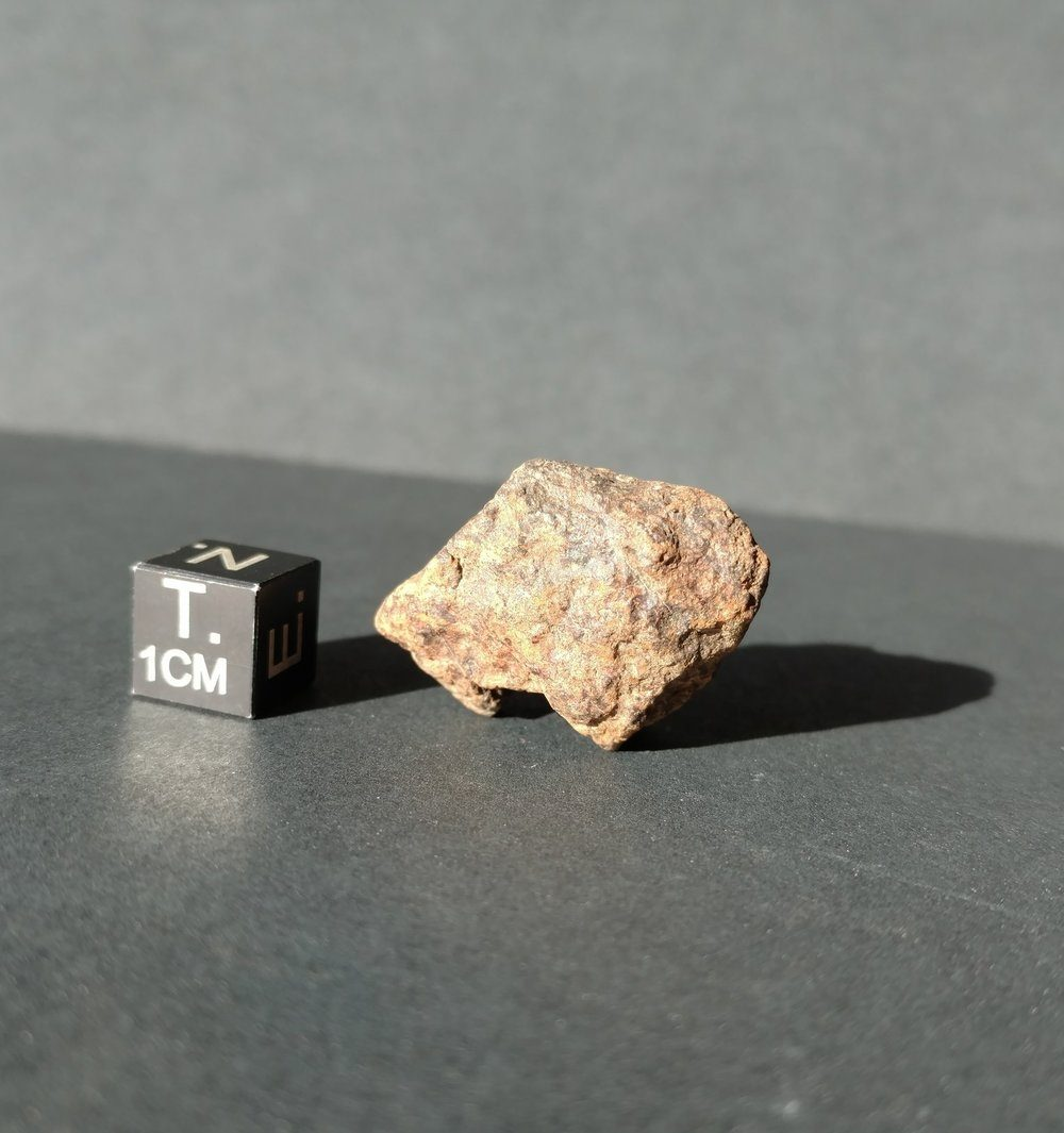 Unclassified NWA 12.9 gram Stone Individual Meteorite Meteorites For Sale