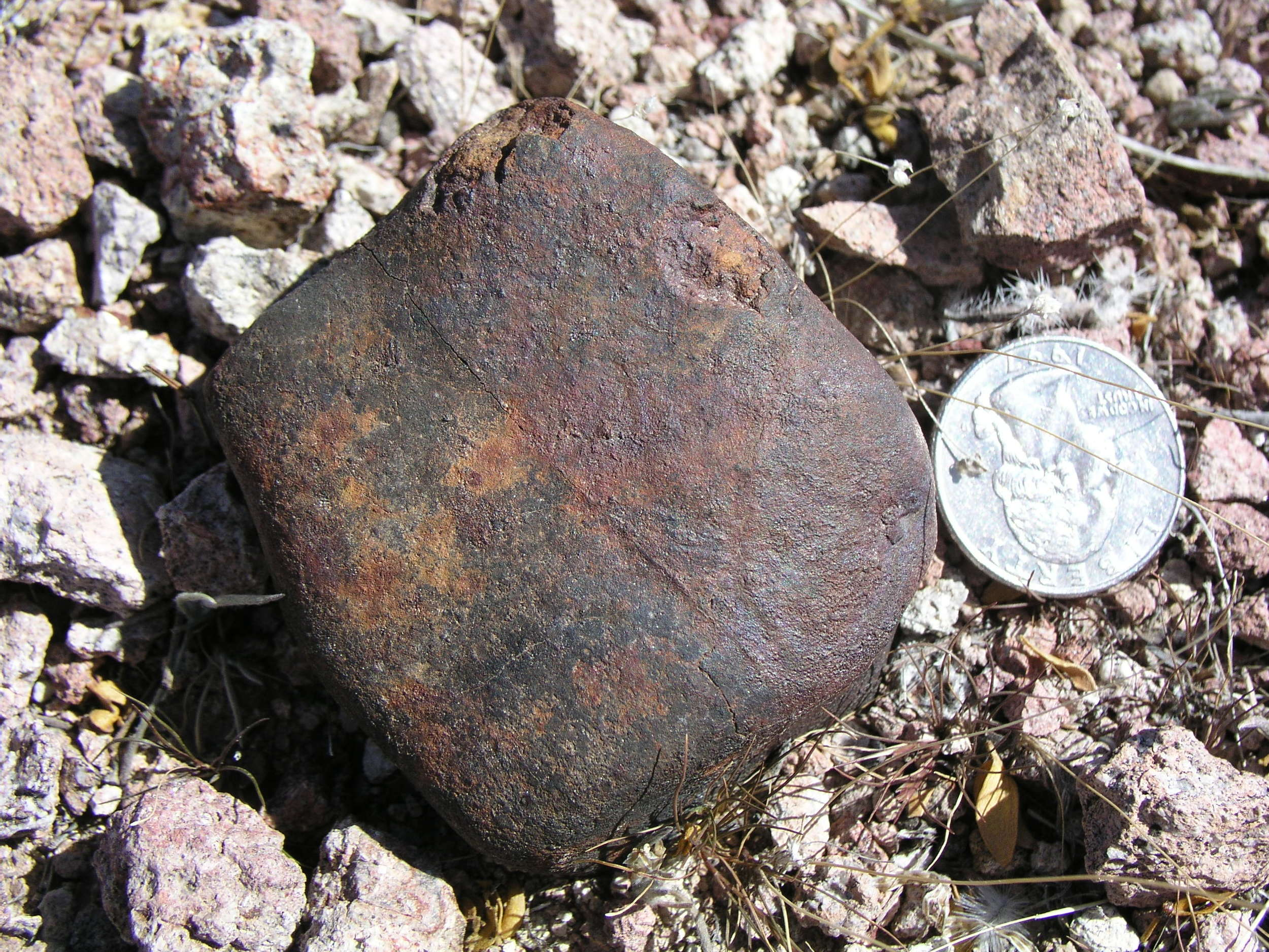 My 251.6 gram. I found it just feet from where 1970's era prospectors had been working. I'm sure this stone was setting there at that time.