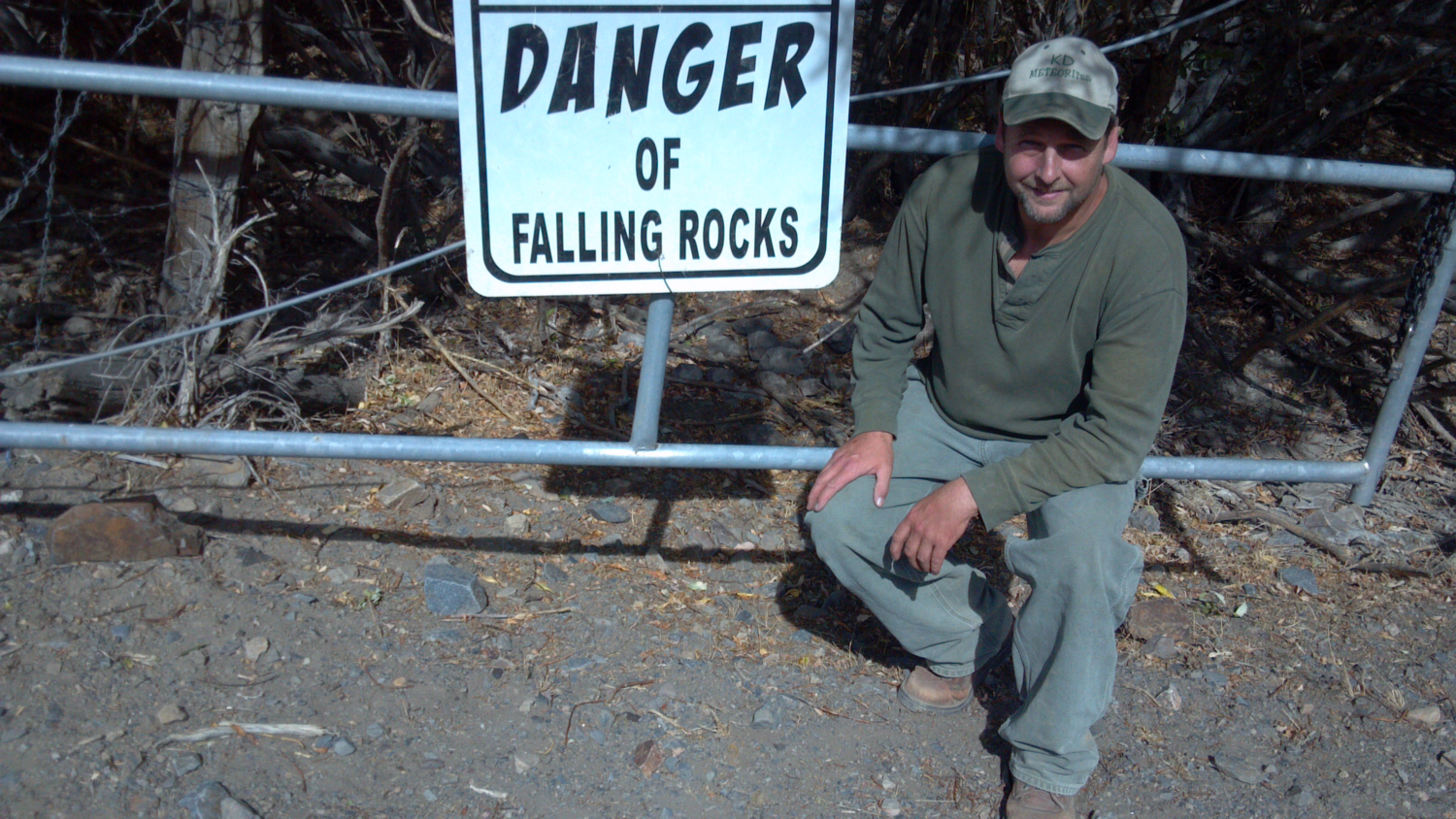 Danger of Falling Rocks? Meteorites or Earth rocks?