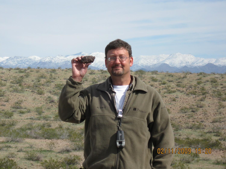 Greg Stanley's 300 gram find, nice.