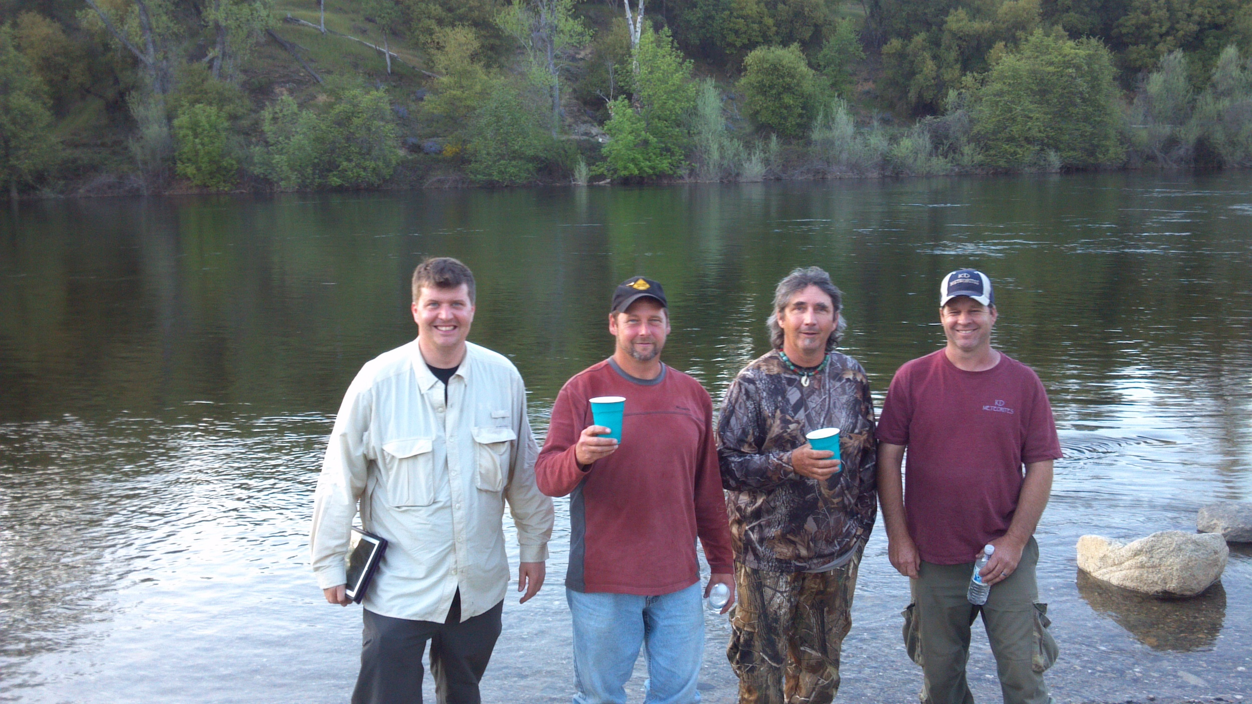Mike Hankey, Larry Atkins, Scott Johnson, Keith Jenkerson.