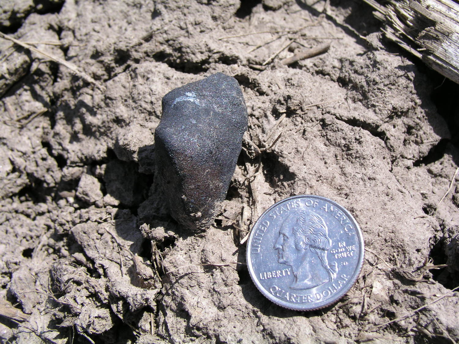 Robert Woolard finds a meteorite!